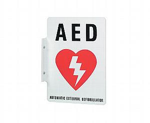 AED Wall Sign < Philips Medical #M3858A
