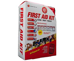 10 person NON ANSI, Soft Case < Genuine First Aid #9999-2301