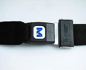 Backboard Strap, Polypropylene Webbing, Metal Push Button Buckle, 4', Black < Morrison Medical #1318BK