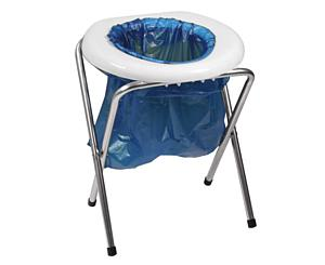 Emergency Portable Camping Stool Toilet Commode < Rothco #560