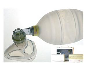 Adult Silicone Resuscitator Complete in Compact Case < Laerdal #87005333