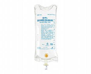 0.9% Sodium Chloride Injection, USP, 1,000 mL, Flexible Bag
