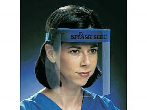Splash Shield Face Protection System, Full < Splash Shield #4505