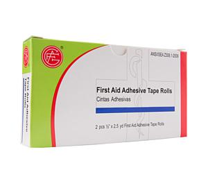 Adhesive Tape Rolls, 0.5 x 2.5 yds, 2pcs < Genuine First Aid #9999-0201