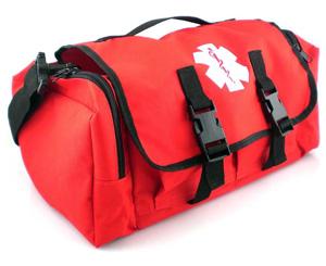 Cab Trauma Bag, Orange < MedSource #MSB3302