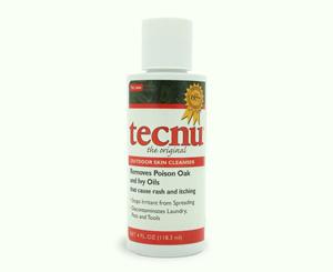 Tecnu Poison Oak And Ivy Skin Cleanser, 4 Oz Bottle