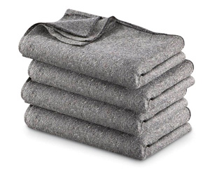 Fire Resistant Wool Blanket < EverReady First Aid #1700040