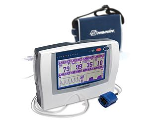 LifeSense Tabletop Capnography and Pulse Oximetry Monitor