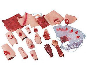 African/American Trauma Moulage Kit