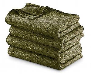 Fire Resistant Wool Military Blanket, Olive Drab < EverReady First Aid #1700040