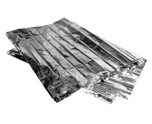 Mylar Solar Emergency Survival Thermal Blanket < Everready First Aid #1700038