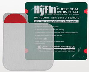 Hyfin Chest Seal < North American Rescue #10-0015