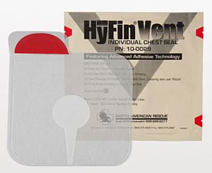HyFin Vent Chest Seal < North American Rescue #10-0029