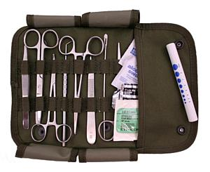 Military Surgical Set, Olive Green <