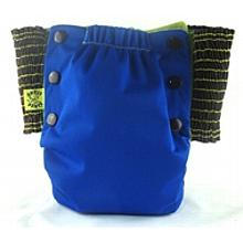 Deep Blue Antsy Pants™ in 6-12 months size, fits from around 13lbs to 22lbs