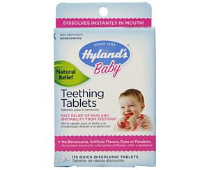Homeopathic Teething Tablets, 100% Natural, 135 Tablets