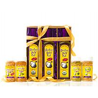 NEW! Garlic Gold Nugget and Oil 7 Piece Sampler