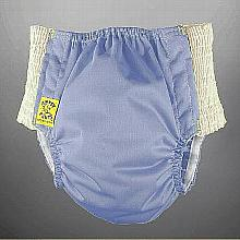 Antsy Pants™ AIO or AI2 size S Periwinkle with White Easy-Stretch Sides (littles apx.15-30lbs)