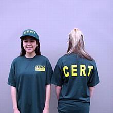 C.E.R.T. t-shirts (2 per pkg)