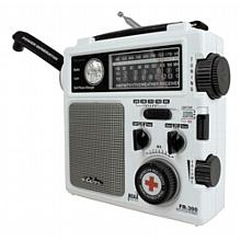 "All-in-one self-powered radio with ""Weather Alert"""