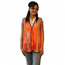 Safety Vest--Nylon w/reflective tape