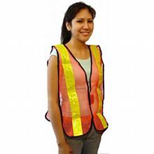Safety Vest--Nylon w/High reflective tape