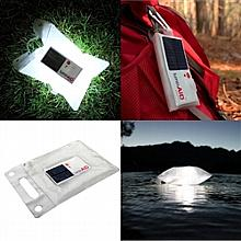 Hurricane Preparedness Solar Powered Inflatable Light