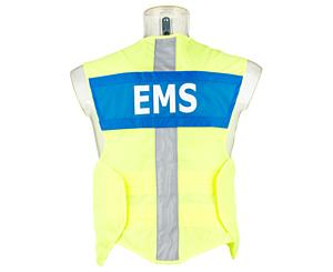 G3 Safety Vest, Advanced, Fluorescent W/ Ems Name Plate