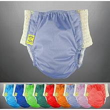 Antsy Pants™ Diaper - Size M assorted colors for kiddos apx. 30-45lbs, with White Easy-Stretch Sides