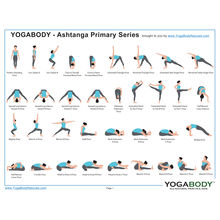 Ashtanga Yoga Pose Chart