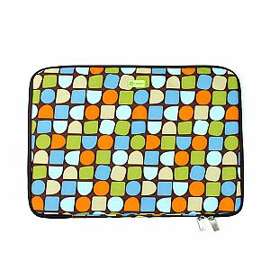 "Laptop Sleeve 15.4"" PC - Deco - Blocks"