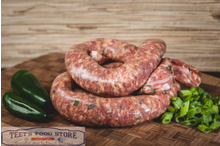 Green Onion Jalapeno Sausage