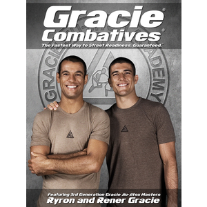 "Gracie Combatives Official Poster (18x24"")"