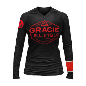 Black Rank Gracie Rashguards (Women)
