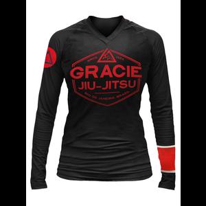 Black Rank Gracie Rashguards (Women)
