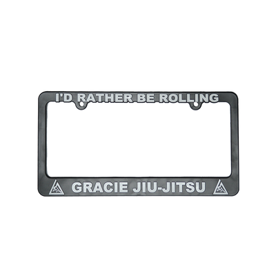 """I'd Rather Be Rolling"" License Plate Frame"