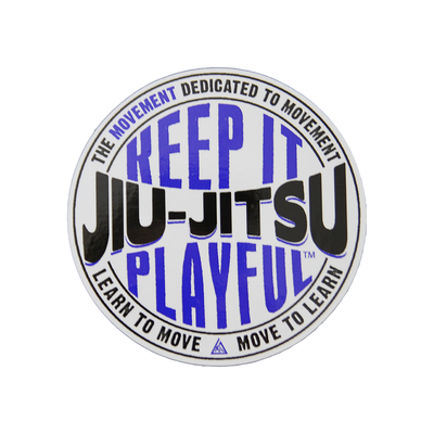 "(5x5"") ""Keep it Playful"" car decal"