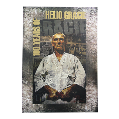 "Helio Gracie 100-Year Art (27x39"")"