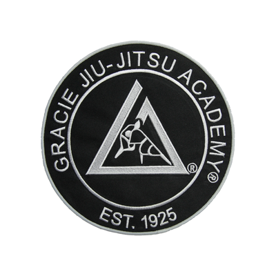 "(9x9"") Black Large Embroidered Gi Patch"