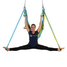 FREE USA Shipping! Yoga Trapeze Aqua with Free DVD Tutorials