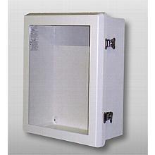 AED Cabinet. Weatherproof. w/Alarm C1499F12-FBG