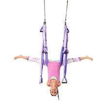 Free USA Shipping! Yoga Trapeze - Purple with Free DVD Tutorials