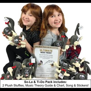 So-La & Ti-Do Stuffies Pack