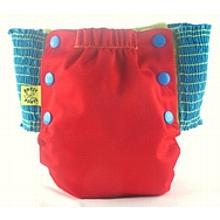 Red Antsy Pants™ in 2T size fits from around 20lbs to 28lbs