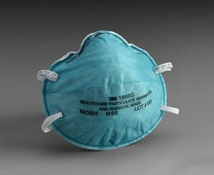 N95 Particulate Respirator & Surgical Mask, Small Box/20